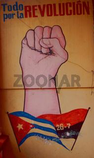 kubanische Propaganda