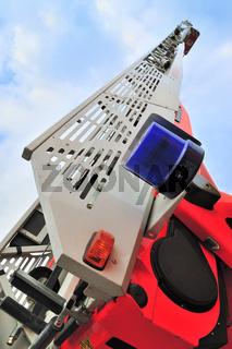 Leiterwagen der Feuerwehr