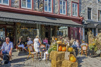 Restaurant On The  Street  Old Town,Quebec City, Canada