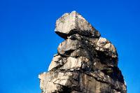sandstone wall Teufelsmauer Harz