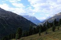 Gipfel im Hochgebirge