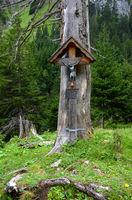 Wegkreuz in den Lechtaler Alpen