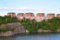 Residental district in Stockholm