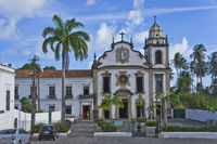 Colonial Style Church, Olinda, Brazil
