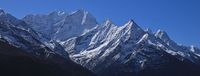 Kusum Kangaru and other mountains in the Mount Everest National Park, Nepal.