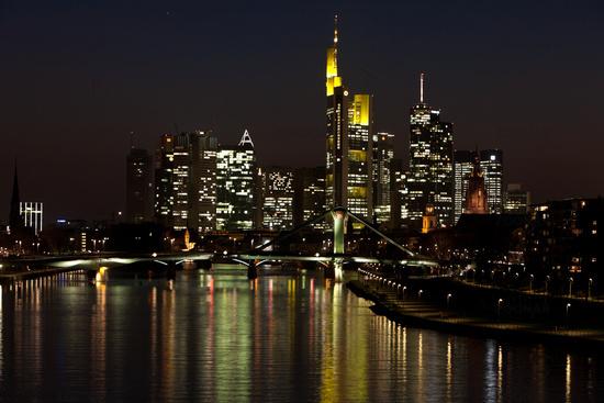 fotos skyline von frankfurt