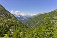 Monte Rosa, Alps, Italy