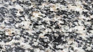 Polierte Oberfläche vom Uppsala-Granit, Makroaufnahme
