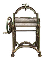 Isolated Laundry Press