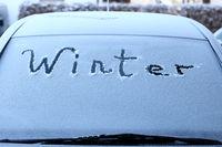 Wintereinbruch am Kraftfahrzeug