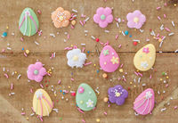 Zuckerdekor zu Ostern