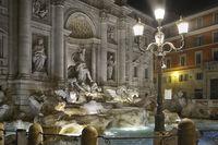 Trevi-Brunnen Rom II
