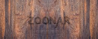 Leerer Holzhintergrund, Holzbretter braun querformat