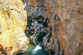 Blyde river canyon river view