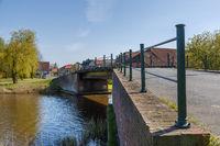 Brücke am Larrelter Tief in Ostfriesland
