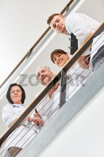 Klinik Ärzte als erfolgreiches Team