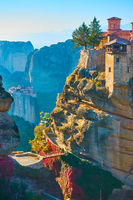 The Varlaam monastery in Meteora