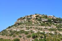 crete mountain peak