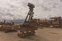 Salar de Uyuni, Bolivia, Train Cemetery