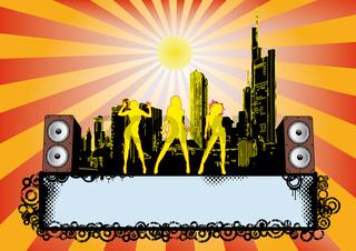 City Disco Party Flyer
