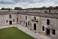 Castillo de San Marcos, the oldest fort in the continental United States, St. Augustine, Florida