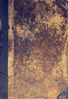Ancient used book cover