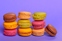 delicious colorfull macarons