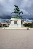 Archduke Charles monument on Heldenplatz in Vienna
