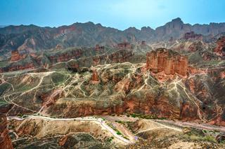 Zhangye National Geopark, Gansu, China