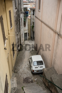 Altstadt von Dorgali, Sardinien