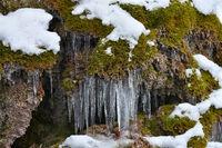 Eiszapfen; icicle;