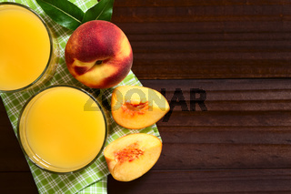 Peach Juice or Nectar