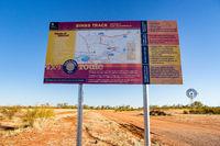 Binns Track Signage