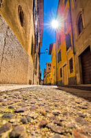 City of Verona colorful steet view