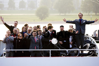 Die Partei singt auf der Wahlparty zum Landtagswahlkampf NRW 2010