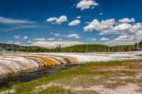 Iron Spring Creek in Yellowstone