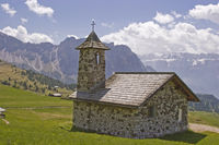 Bergkapelle im Grödner Tal