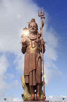 Mauritius. Shiva statue