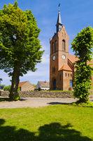 Dorfkirche Freudenberg, Brandenburg, Deutschland