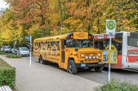 Ausflugsbus in Binz
