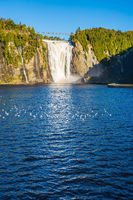 The waterfall Montmorency in Park
