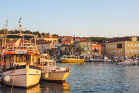 Stadtbild von Mali Losinj, Kroatien