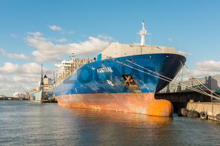 Frachtschiff Austral