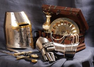 Still-life with an armour