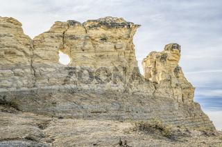 Monument Rocks in western Kansas