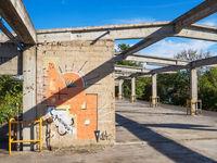 Alte Lagerhalle Industrieruine