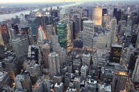 Blick vom Empire State Building, New York City