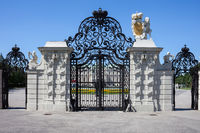 Gate of Belvedere in Vienna