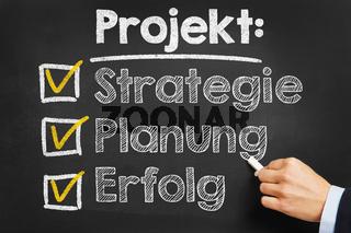 Checkliste für Projektplanung