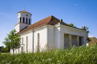 Schinkelkirche Neuhardenberg, Brandenburg, Deutschland